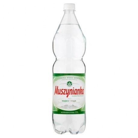 Muszynianka 1.5l. niegazowana 504 butelki PALETA