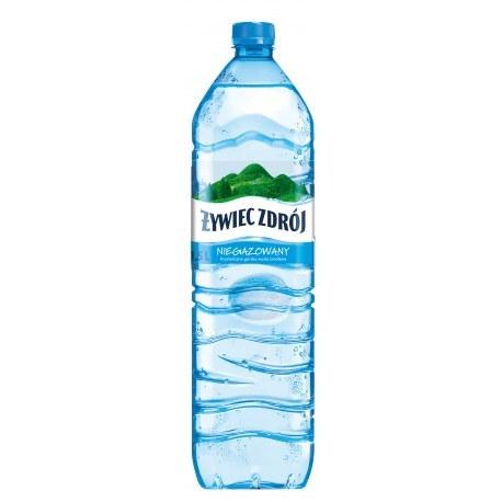 Żywiec 1.5 l. niegazowany 552 butelki PALETA