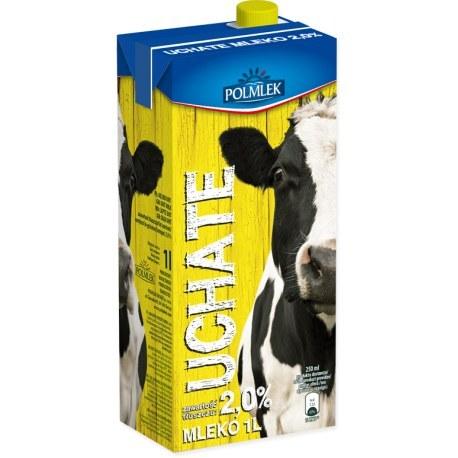 Mleko UCHATE 2% 1 litr