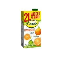 6 sztuk Garden Napój pomarańczowy 2l.