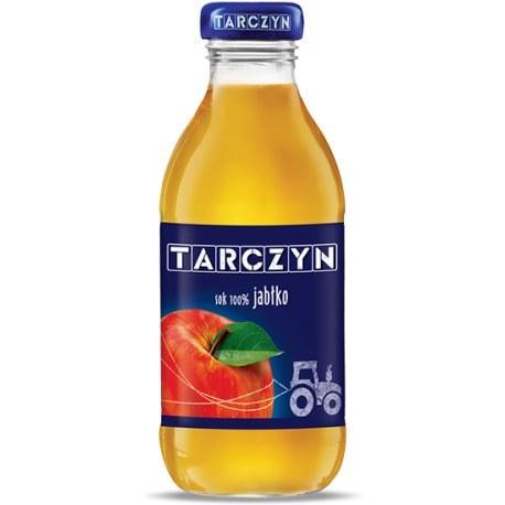 Tarczyn Sok 100% 0.33l. szkło
