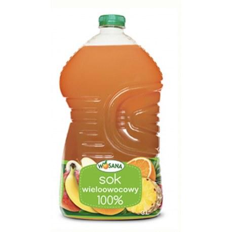 9 litrów (3x3l)Wosana Sok Multiwitamina