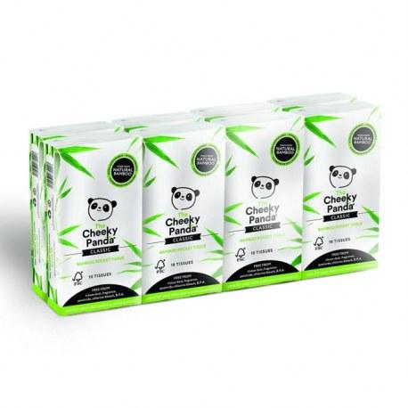 8 paczek Chusteczki z bambusa Kieszonkowe