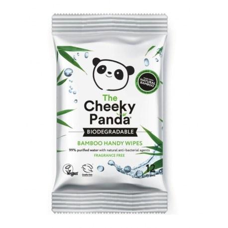Bambusowe chusteczki nawilżane Panda x 12 sztuk
