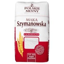 Mąka SZYMANOWSKA pszenna typ 480 1 kg