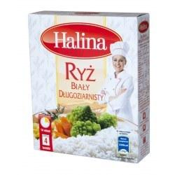 Ryż biały halina 4x 100g