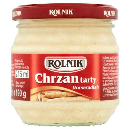 Chrzan tarty Rolnik 190 g