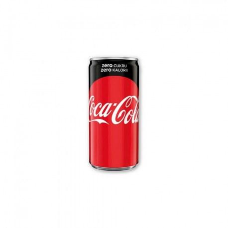 24 sztuki COCA-COLA zero 200 ml
