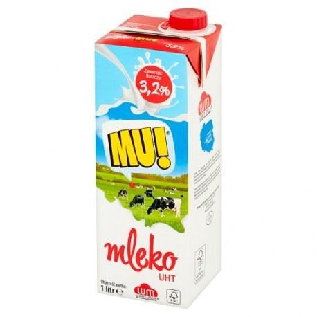 Mleko MU 3.2 % 1 litr