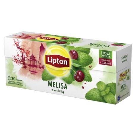 Lipton Melisa z wiśnią 20 torebek