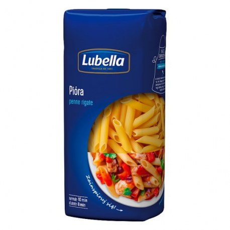 Makaron LUBELLA PENNE RIGATE 400g