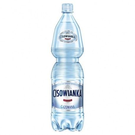 Cisowianka 1.5l. gazowana 504 butelki PALETA