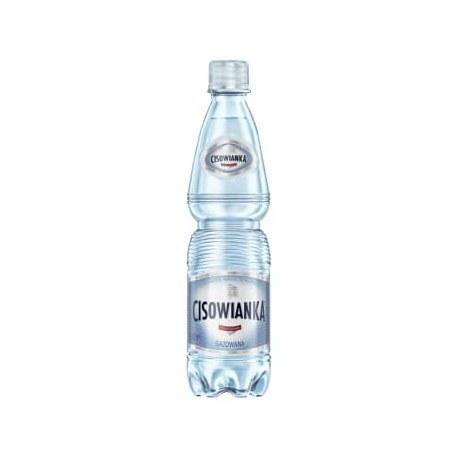 Cisowianka 0.5l. gazowana 1512 butelek PALETA