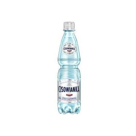 Woda mineralna Cisowianka 0.5l lekko gazowana 12 sztuk