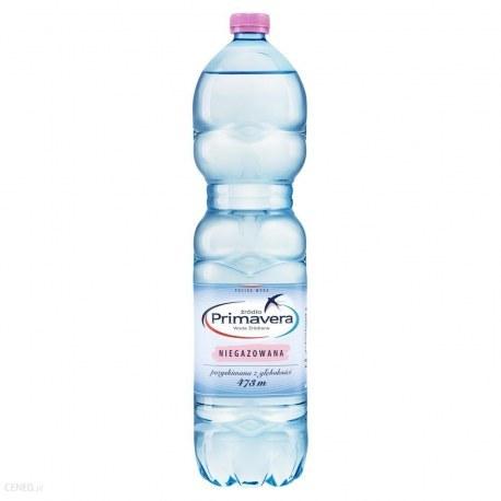 PRIMAVERA 1.5 l. niegazowana 600 butelek PALETA
