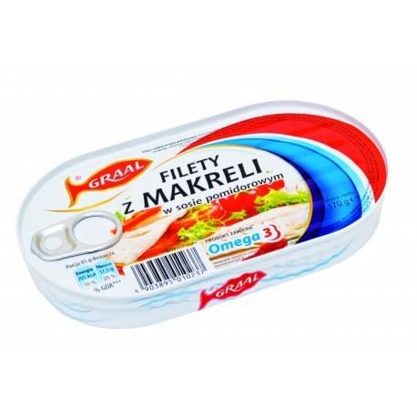 GRAAL Szprot w sosie pomidorowym 170 g