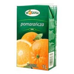 1 sztuka Wosana Sok Pomarańczowy 1l