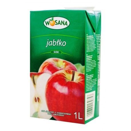 1 sztuka Wosana Sok Jabłkowy 1l