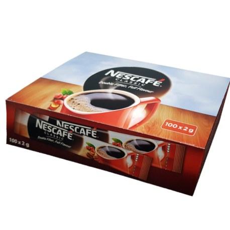 Kawa Nescafe CLASSIC paluszek 2g x 100 sztuk
