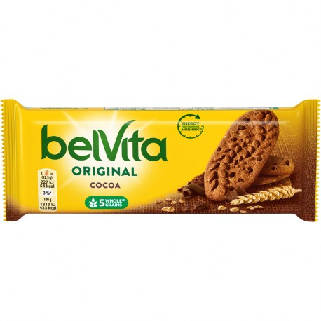 Belvita Ciastka kakaowe 50g x 20 sztuk