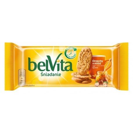 Belvita Ciastka orzechowe z miodem 50g x 20 sztuk