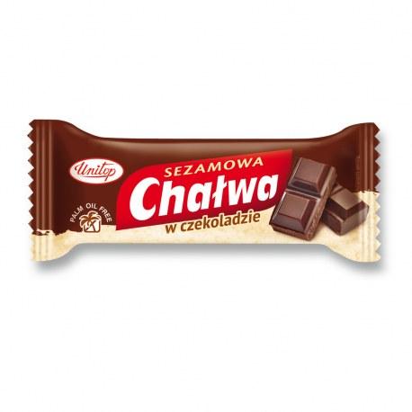 Unitop Chałwa w czekoladzie 50g x 15 sztuk