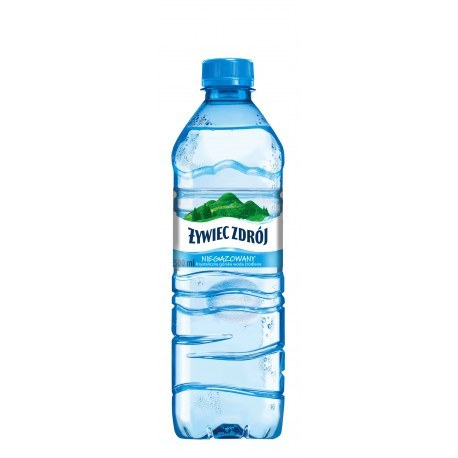 Żywiec 0.5l. niegazowany 1440 butelek PALETA