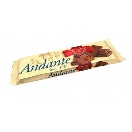 WAFLE ANDANTE kakaowe 130G X 16 SZTUK