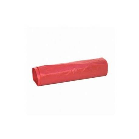 Worki na śmieci czerwone 35l 50 sztuk