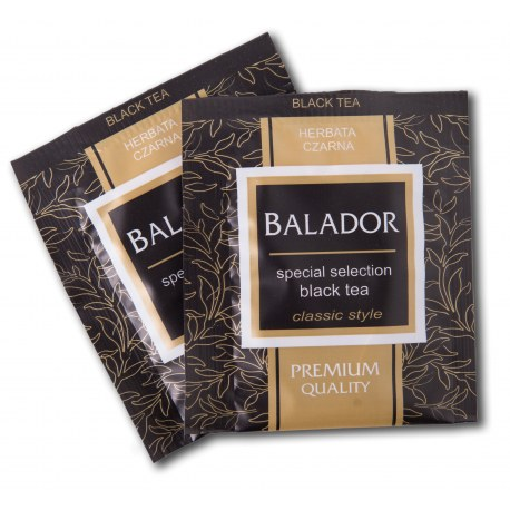 Herbata kopertowana Balador Czarna 500 sztuk