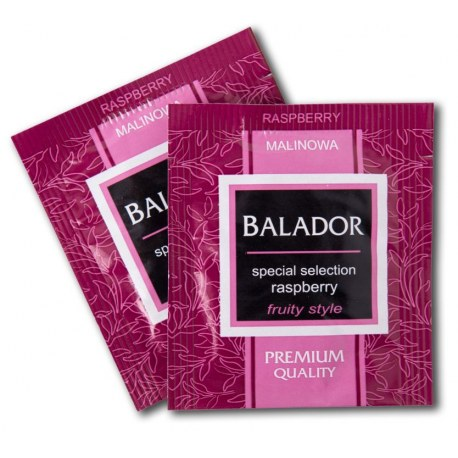 Herbata kopertowana Balador Malinowa 500 sztuk