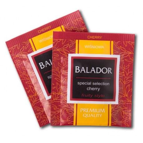 Herbata kopertowana Balador Wiśniowa 500 sztuk
