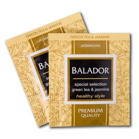 Herbata kopertowana Balador Zielona z jaśminem i miodem 500 sztuk