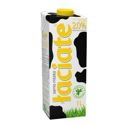 Mleko Łaciate 2% 1 litr X 12 SZTUK