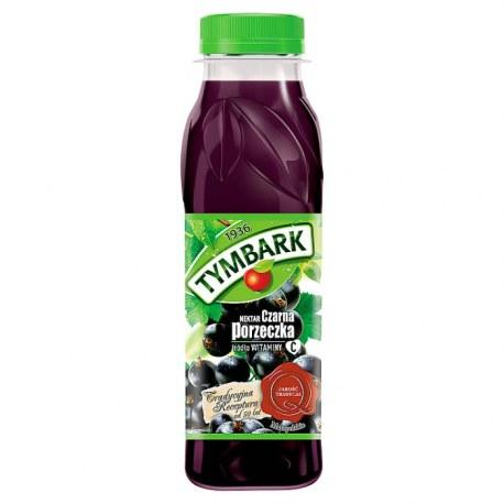 TYMBARK Nektar Czarna porzeczka PET 300 ml 12 sztuk