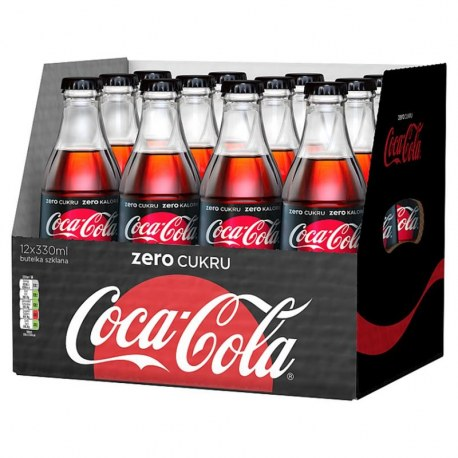 Cola ZERO 330 ml x 12 butelek