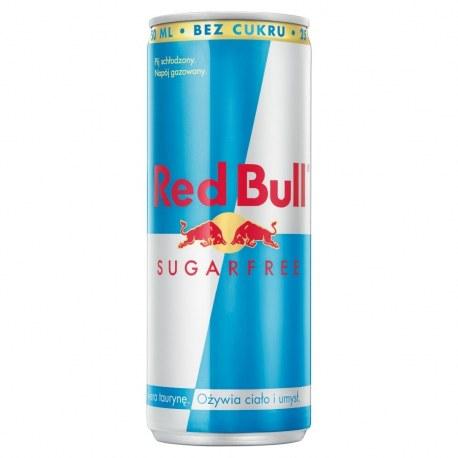 Red Bull Energy Drink BEZ CUKRU 250 ml x 24 sztuki