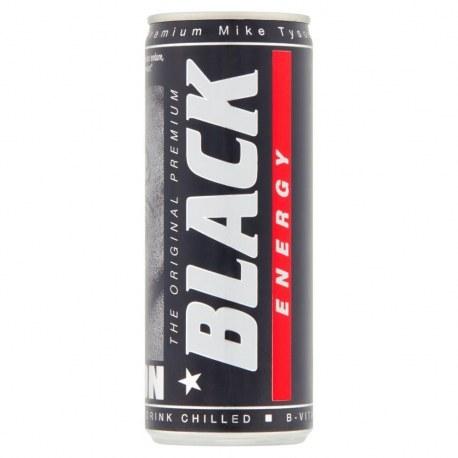 Black Energy Drink 250 ml x 24 sztuki