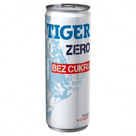 Tiger Energy Drink Bez cukru 250 ml x 24 sztuki
