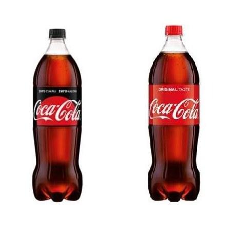 Coca Cola 1L. mix 660 sztuk PALETA