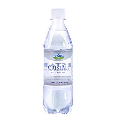 Woda źródlana Cristal 0.5l gazowana