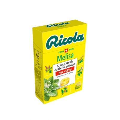 Ricola cukierki ziołowe melisa 27,5 g x 20 sztuk