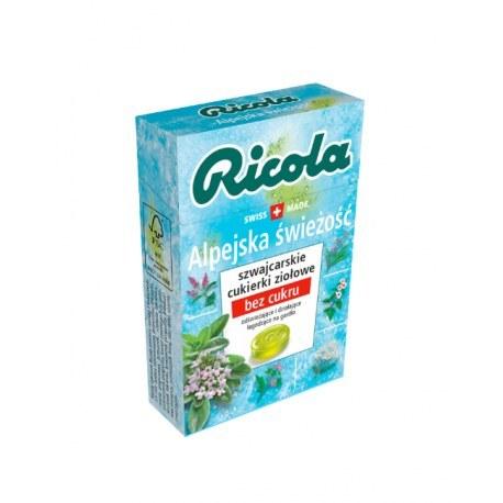 Ricola cukierki ziołowe alpejska świeżość 27,5 g