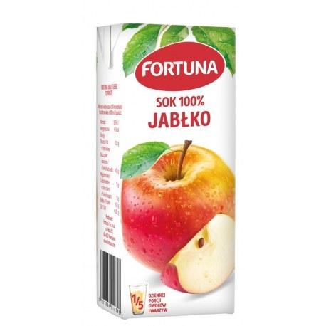 FORTUNA sok pomarańczowy ze słomką X 24 SZTUK