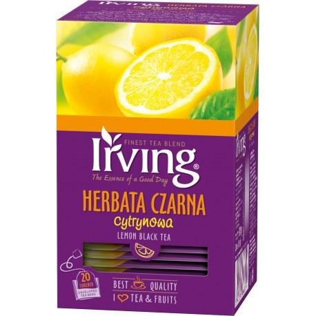 Irving herbata cytrynowa 20 kopert