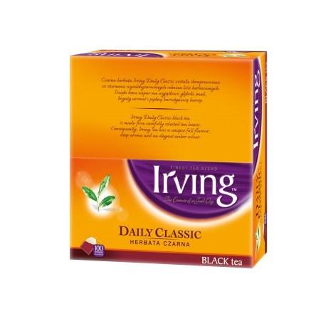 Irving herbata czarna 100 kopert
