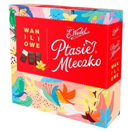 Wedel Ptasie Mleczko® Waniliowe 380 g