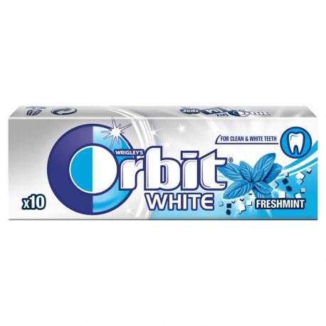 ORBIT WHITE MINT 10 DRAŻETEK x 30 PACZEK