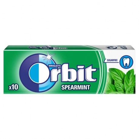 ORBIT SPEARMINT 10 DRAŻETEK x 30 PACZEK