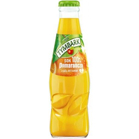 Tymbark HORECA Sok 100% Pomarańczowy 0.2l 15 sztuk